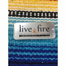 Live Fire Emergency Survival Fire Starter Original Tin