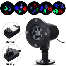 Holiday Xmas Outdoor LED Laser Moving Light Projector Landscape Garden Lawn