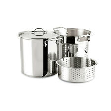 All-Clad Specialty Cookware Stainless Steel 12 Quart Multi Cooker