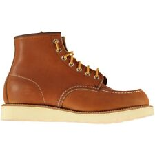 """Red Wing Shoe Co Classic 6"""" Moc Work Boots Tan Oro Legacy Leather"""