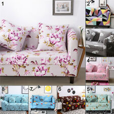 L-shaped 1 2 3 4 Seat Elastic Slipcover Sofa Cover Couch Furniture Protector NEW