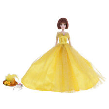 Fashion Doll Party Princess Dress Strapless Clothes Gown for Barbie Dolls