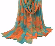 Ladies Scarves Floral Print Design Long Large Size Shawl Women Adult Accessories
