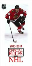 2013-14 Official Rules of the NHL by National Hockey League 1600788556 The Fast