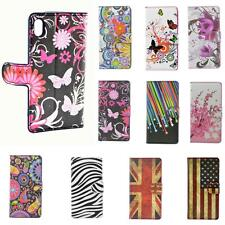 Flip Wallet PU Leather Case Cover Card Slot Stand For Sony Z2 Z1 Z M2 E1 Z1 Min