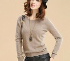 Women Sweaters For Winter Autumn Long Sleeve Knitted Cashmere Wool Top Pullover