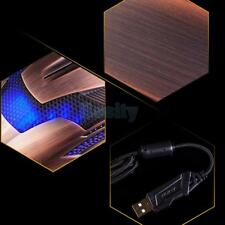 2000DPI Adjustable Optical USB Wired Gaming Mouse Gamer Game Mice For Laptop