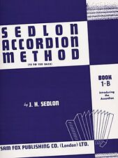 Sedlon Accordion Method: Bk.1B by Sedlon, J.H. 0571529674 The Fast Free Shipping