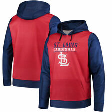 St. Louis Cardinals Forever Collectibles Mens Cooperstown Pullover  Sweatshirts