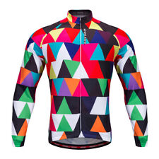 Unisex Breathable Cycling Jersey Long Sleeve Cycling Jacket Riding Jersey