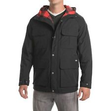 Mens WOOLRICH ADVISORY MOUNTAIN PARKA WINTER Insulated HOODED  L XL NEW BLACK