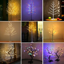 Pre-Lit Christmas Xmas Cherry Blossom Tree with LED Lights fo Indoor Outdoor Use
