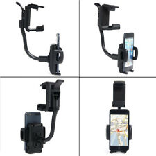 Universal Car Rearview Mirror Mount Holder Stand Clip for Cellphone PDA MP3 Good