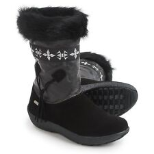 Womens TECNICA SKANDIA SUEDE MID SPORT Faux Fur SNOW WINTER BOOTS Size 7 New