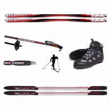 170cm METAL EDGE - UPGRADE BACK COUNTRY CROSS COUNTRY SKIS PACKAGE - UNBOX & SKI