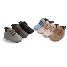 Baby Hight Cut Shoes Winter Sole Leather Shoes Infant Boy Girl Toddler Shoes