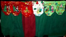 Hanging Kitchen Towels - Christmas - Mickey - Minnie - Pluto - Donald