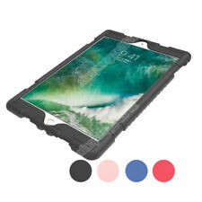 Shockproof Soft Silicone Back Case Cover Skin For New iPad 9.7 2017 Tablet+Film