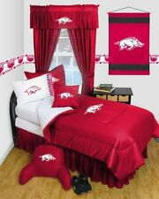 NCAA Arkansas Razorbacks Locker Room Comforter Set