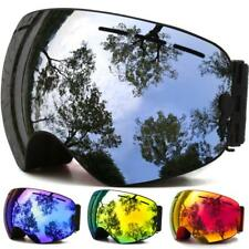 Snowboard and Ski Goggles with Anti-fog UV Protection
