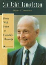 SIR JOHN TEMPLETON FROM WALL STREET TO HUMILITY THEOLOGY Brand New SC