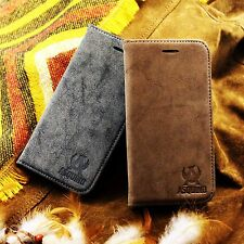 ASQUINO Apple iPhone Case Cover Suede Synthetic Pouch Phone Case