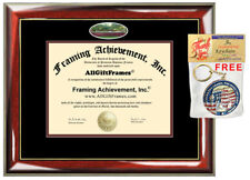 Springfield College Diploma Frame campus photo College Degree Certificate Gift