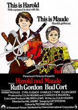Harold And Maude - 1971 - Movie Poster
