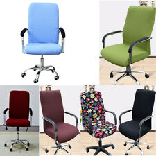 Elastic Chair Cover Stretchy Office Armchair Seat Swivel Chair Slipcover