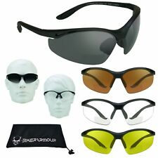 BIFOCAL Reading Sunglasses Sun Reader Glasses Z87 Safety Cycling Golf Motorcycle