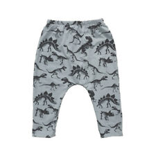 Toddler Baby Boy Trousers Dinosaurs Print Elasticity Long Pants Lovely Trousers