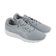 Asics Gel Kayano Trainer Evo Mens Gray Mesh Athletic Lace Up Training Shoes