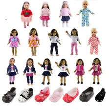 Clothes Shoes for 18 inch American Girl Doll Our Generation Doll Outfits Pajamas