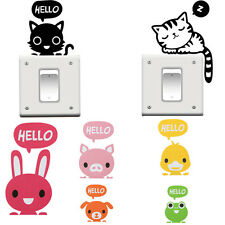 2x Removable Switch Sticker Vinyl Art Mural Decal Home Wall Window DIY Decors MR