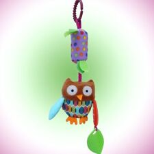 Baby Cute Hanging Bell Animal Fabric Soft Bed Stroller Plush Dolls Mobile