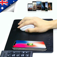 QI Wireless Charger Charging Pad Mat Mouse iPhone X 8 Plus Samsung Note 8 S8 S7