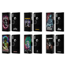 OFFICIAL JIMI HENDRIX KEY ART LEATHER BOOK WALLET CASE FOR APPLE iPHONE PHONES