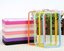 Hot! TPU Frame Bumper Ultra Thin Clear Hard Back Case Cover for iPhone 5 5G 5S