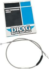 Drag Specialties 0652-1471 Braided Stainless High Efficiency Clutch Cable