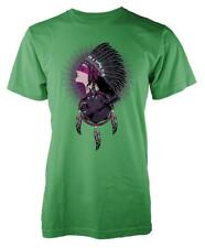 BNWT NATIVE FACTS INDIAN DREAM CATCHER FEATHERS  ADULT T-SHIRT S-XXL