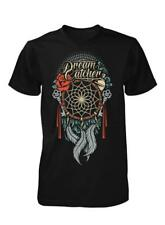 BNWT DREAMCATCHER PEACEFUL TRANQUIL FEATHERS ADULT T-SHIRT S-XXL