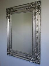 Large New silver French style Ornate Mirror