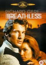 BREATHLESS DVD Richard Gere Brand New and Sealed Original UK Release Region 2