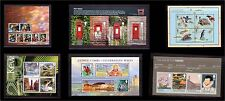 2009 Miniature Sheet Issues of Great Britain Mint NH sold separately