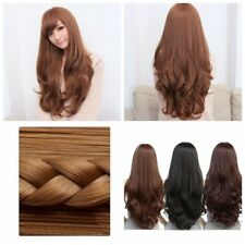 Ladies Fancy Dress Hair Wigs Cosplay Party Carnival Costume Long Curly Full Wigs