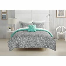 Brushstroke Dots 8-piece Bed in a Bag with Sheet Set