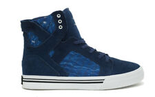 Supra Skytop Blue s13022k Youth High Top Trainers Sneakers Shoes Kids Shoes