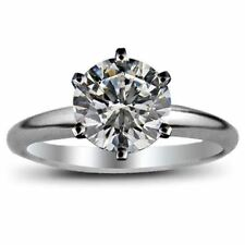 2.80 Carat Round Cut Brilliant Diamond Engagement Solitaire Ring EGL Certified