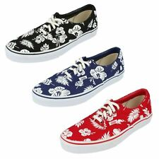 VANS 'Era' Unisex Tropicoco/True Red Lace Up Tropical Themed Canvas Shoes