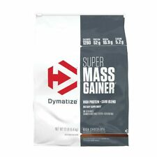 Dymatize Super Mass Gainer 5.4kg 12lb Weight Muscle Gain Whey Protein Powder